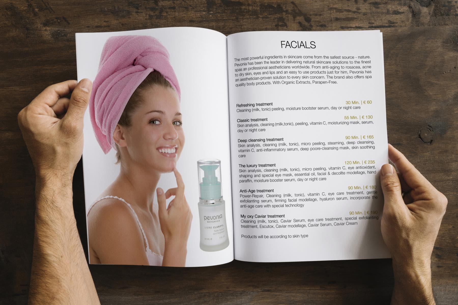 Sissy Cosmetics Broschüre by Netshaper