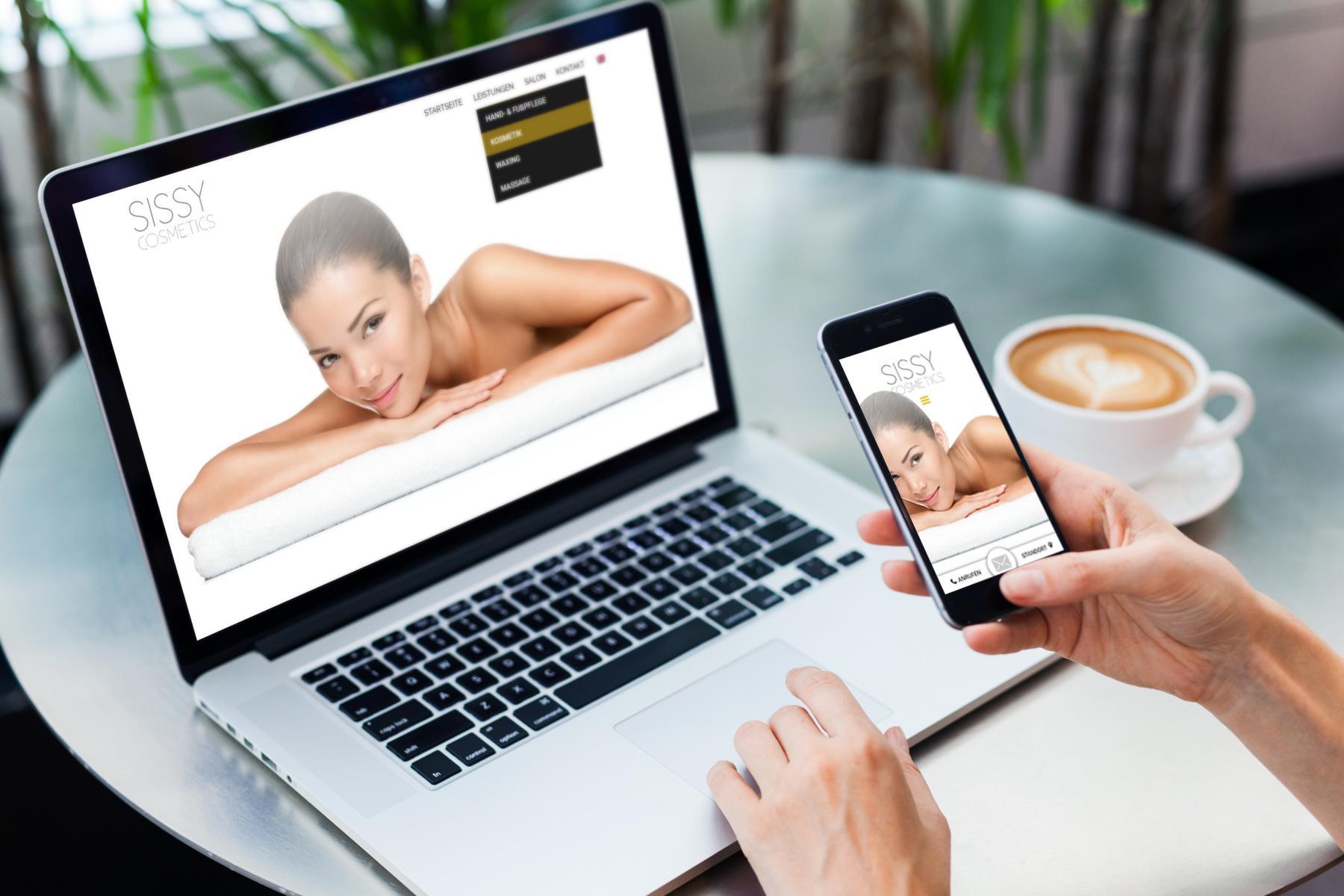 Sissy Cosmetics Website by Netshaper - Webdesign Strasshof